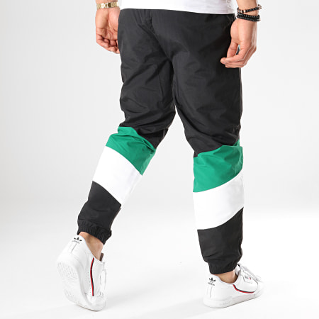 New Era - Pantalon Jogging NBA Colour Block Boston Celtics Noir Blanc Vert