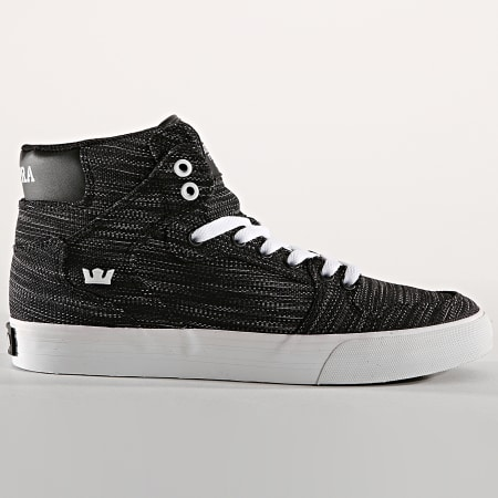Supra - Baskets Vaider 08204 982 Black White