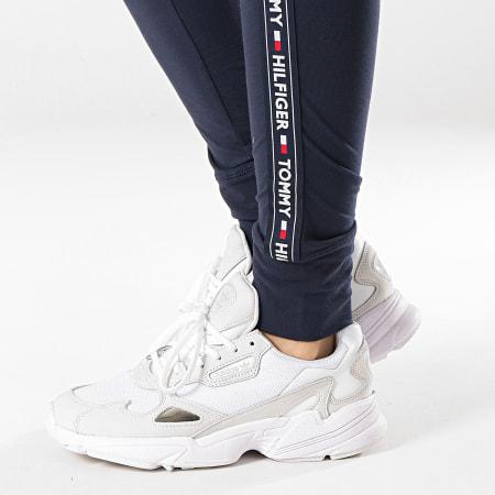 Tommy Hilfiger Jeans - Legging Femme Avec Bandes 0563 Bleu Marine