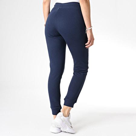 Tommy Hilfiger Jeans - Pantalon Jogging Femme Avec Bandes 0564 Bleu Marine