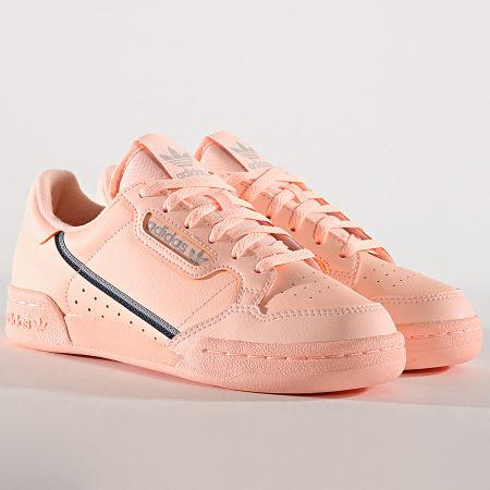 adidas - Baskets Femme Continental 80 F97508 Clear Orange ...
