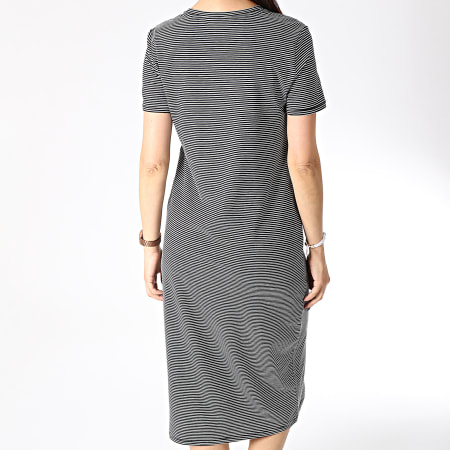 Vero Moda - Robe Femme Ava Noir Blanc