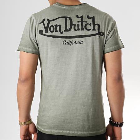 Von Dutch - Tee Shirt Gardy Vert Kaki
