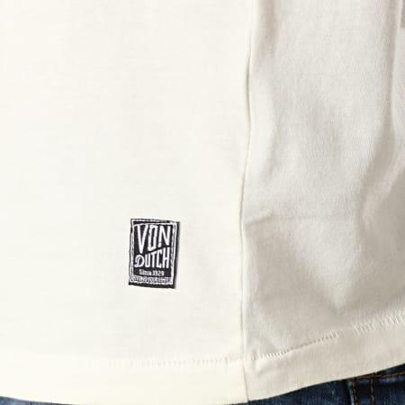 Von Dutch - Tee Shirt Gardy Ecru