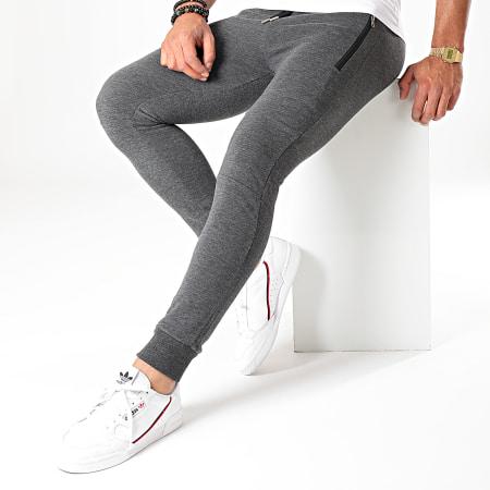 LBO - Pantalon Jogging 623 Gris Anthracite