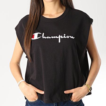 Champion - Tee Shirt Femme 111647 Noir