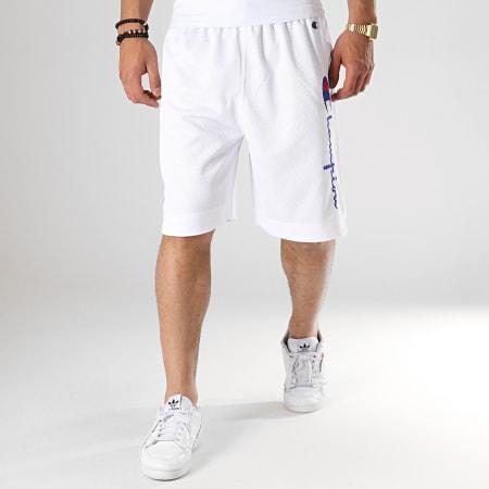 Champion - Short Jogging 213054 Blanc