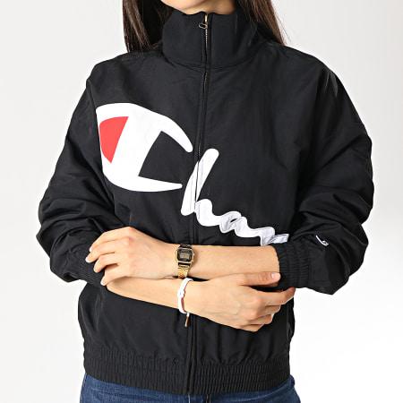 Champion - Veste Zippée Femme 111659 Noir