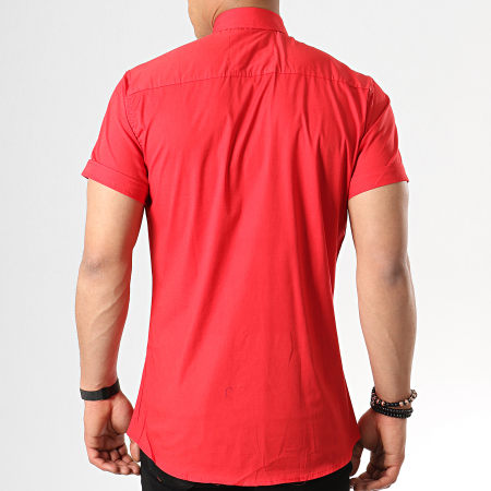 Classic Series - Chemise Manches Courtes 113 Rouge