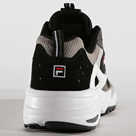 Fila - Baskets Ray Tracer 1010685 25Y Black White