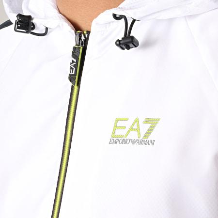 EA7 - Ensemble De Survetement A Bandes 3GPV06-PNP6Z Blanc Noir