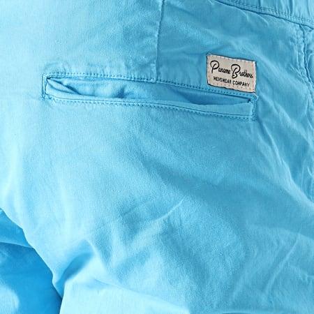 Paname Brothers - Short Chino Malaga Bleu Clair
