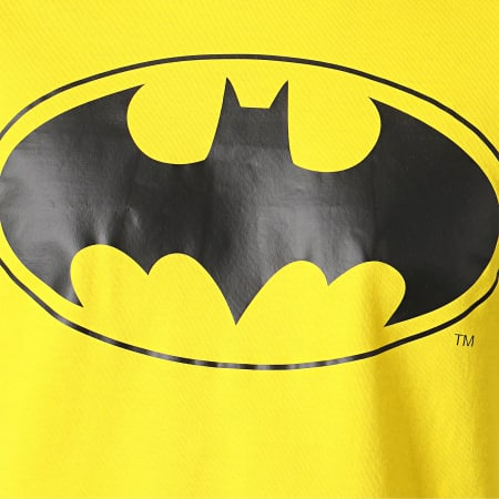 Batman - Tee Shirt Logo Jaune