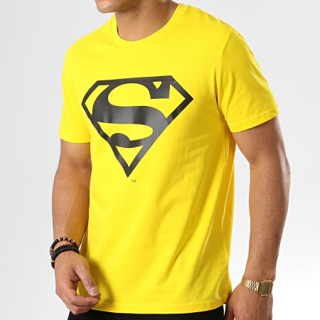 Superman - Tee Shirt Logo Jaune