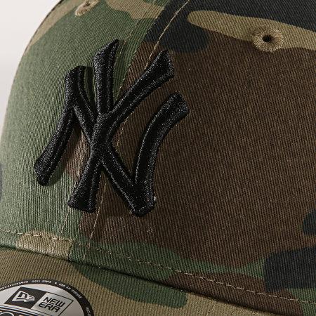 New Era - Casquette Enfant League Essential New York Yankees 12053098 Gris Anthracite Camouflage