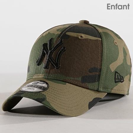 New Era - Casquette Enfant League Essential New York Yankees 12053098 Vert Kaki Camouflage