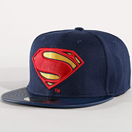 Superman - Casquette Snapback Logo 003 Bleu Marine