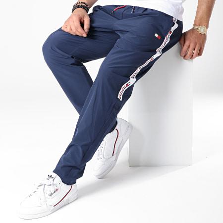 Tommy Sport - Short Jogging Avec Bandes S20S200012 Bleu Marine