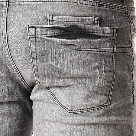 Classic Series - Short Jean Slim 1104 Gris