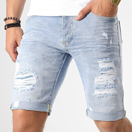 Classic Series - Short Jean Slim 1085 Bleu Wash