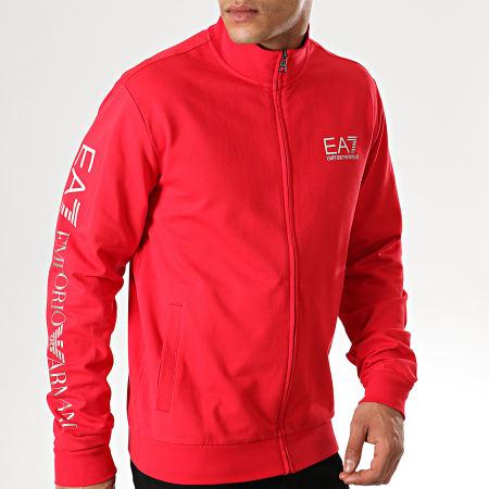 EA7 - Veste Zippée 3GPM23-PJ05Z Rouge