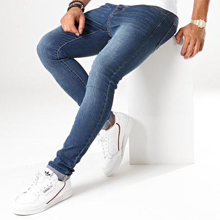 LBO - Jean Skinny 72175-4 Bleu Denim
