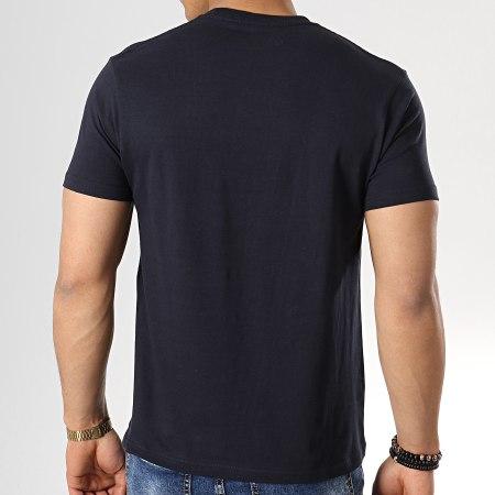 Avengers - Tee Shirt Optic Logo Bleu Marine