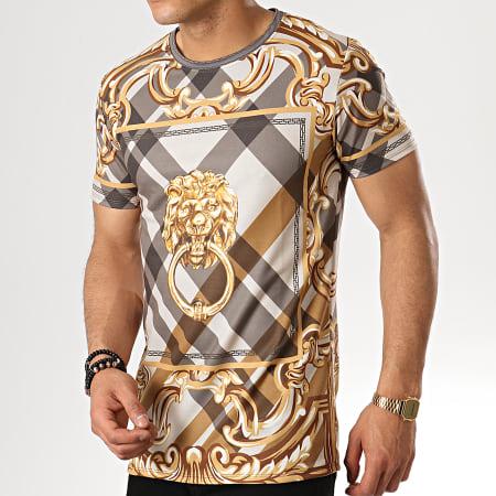 Uniplay - Tee Shirt T598 Beige Renaissance