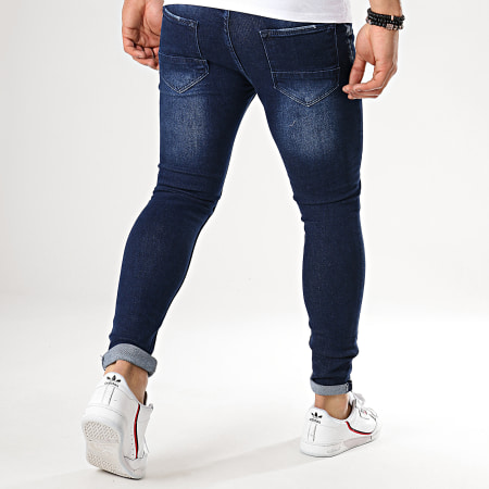 Berry Denim - Jean Slim J1039 Bleu Brut