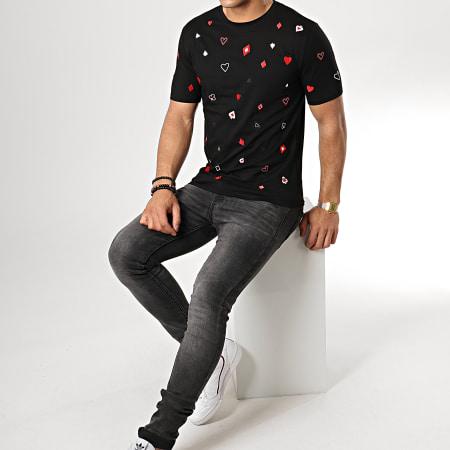 Berry Denim - Tee Shirt JB18081 Noir