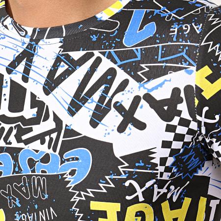 Berry Denim - Tee Shirt JAK-129 Noir Blanc