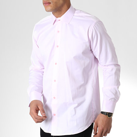 Classic Series - Chemise Manches Longues SDC66 Rose