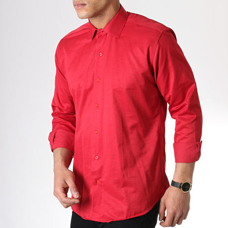 Classic Series - Chemise Manches Longues SDC66 Rouge