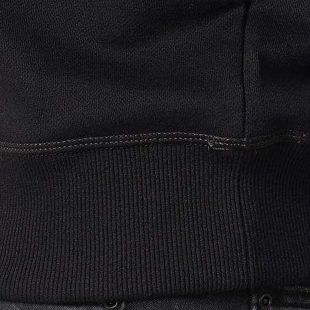G-Star - Sweat Crewneck Core Camo Block D12885-A613 Noir Vert Kaki Camouflage