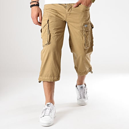 Paname Brothers - Short Cargo Rio Long Beige