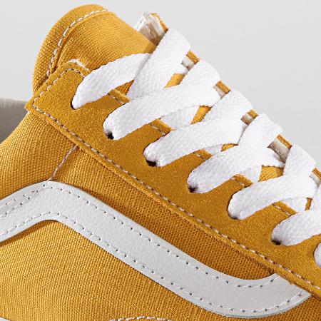 Vans Baskets Femme Old Skool A38G1VRQ1 Yolk Yellow True