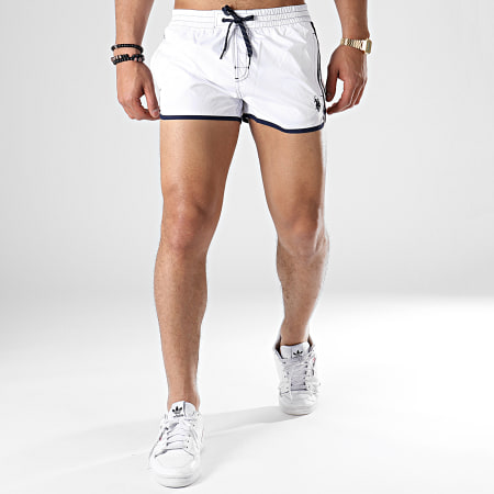 US Polo ASSN - Short De Bain Simon 18251798-28764 Blanc