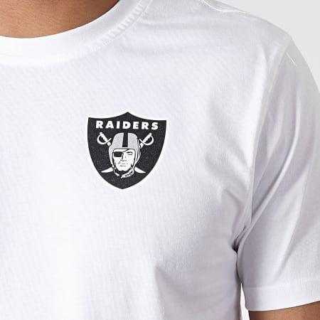 New Era - Tee Shirt Oakland Raiders Established Number 11935169 Blanc