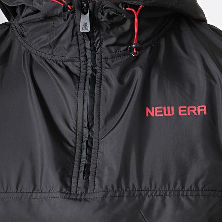 New Era - Coupe-Vent Contempory 11935226 Noir Rouge Blanc