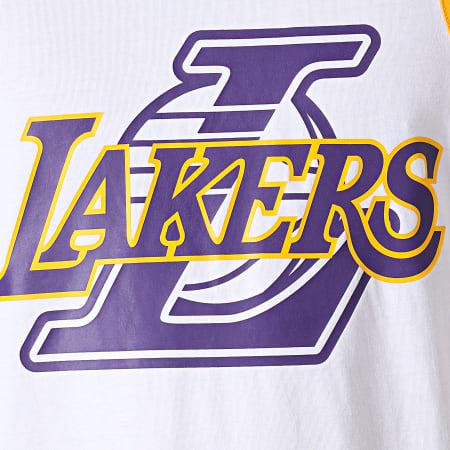 New Era - Débardeur Logo Los Angeles Lakers 11935242 Blanc