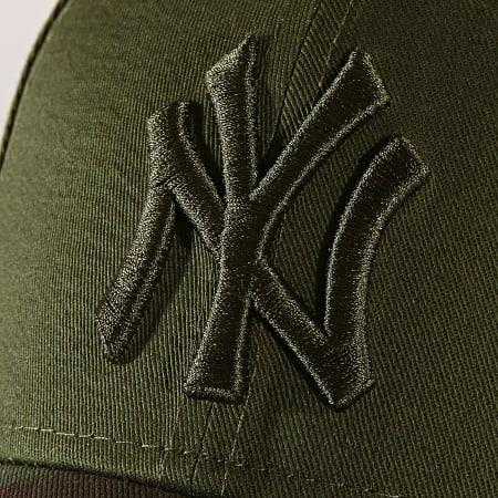 New Era - Casquette Enfant Camo New York Yankees 11945542 Vert Kaki Camouflage