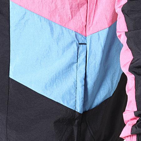 Ellesse - Veste Zippée Vinales SHB06822 Noir Bleu Clair Rose