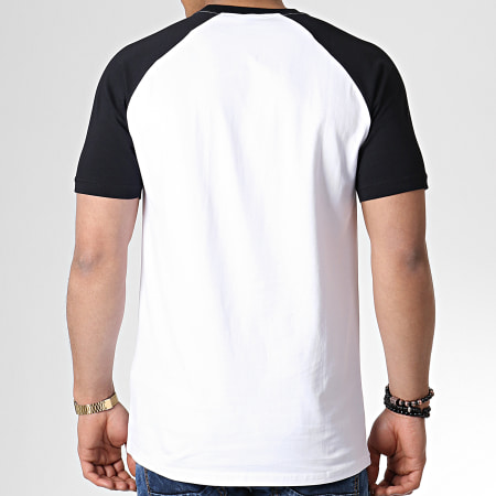 Tee Shirt Raglan Ellesse Cassina Tee Blanc Noir Collection