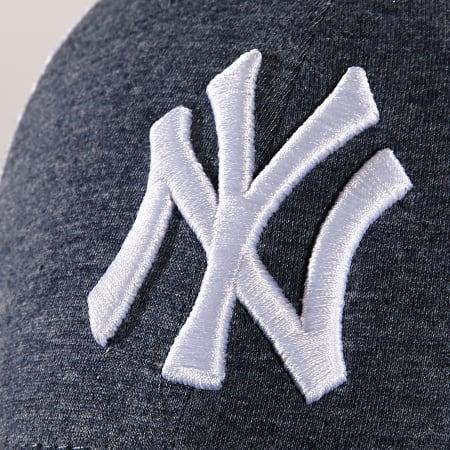 New Era - Casquette Trucker Summer League 940 New York Yankees 11945622 Bleu Marine Chiné Blanc