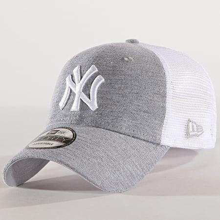 New Era - Casquette Trucker Summer League 940 New York Yankees 11945623 Gris Chiné Blanc