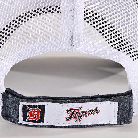 New Era - Casquette Trucker Summer League 940 Detroit Tigers 11945629 Bleu Marine Chiné Blanc