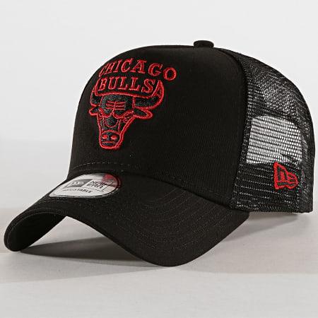 New Era - Casquette Trucker Chicago Bulls Essential A Frame 11945642 Noir