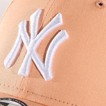 New Era - Casquette League Essential New York Yankees 11945653 Orange Clair
