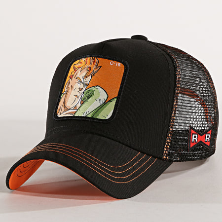 Dragon Ball Z - Casquette Trucker C16 Noir