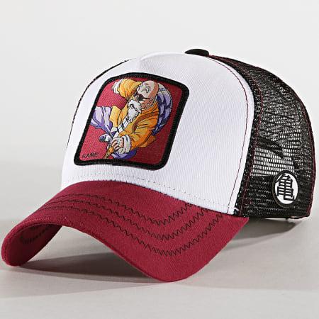 Dragon Ball Z - Casquette Trucker Kame Blanc Boreaux Noir
